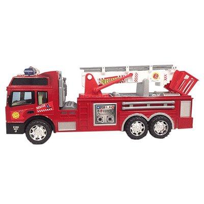 Caminhão Super Bombeiro Fricção Cks Toys