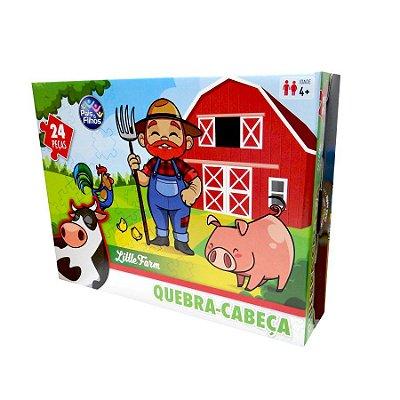 Quebra-Cabeça Little Farm 24 Peças - Pais & Filhos