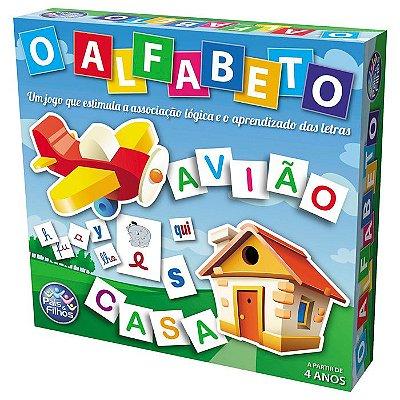 Jogo O Alfabeto Pais e Filhos