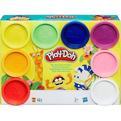 Conjunto de Massinhas Play-Doh Hasbro com 8 Potes