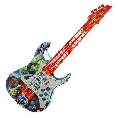 Guitarra Eletrônica Infantil Os Vingadores - Marvel