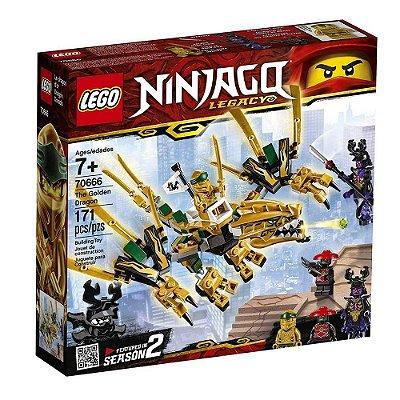 Lego Ninjago O Dragão Dourado