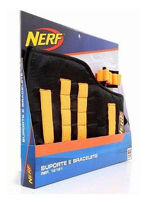 Conjunto - Bracelete e Suporte para Dardos - Nerf