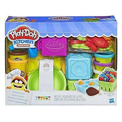 Massa de Modelar - Play-Doh - Diversão no Mercado - Hasbro