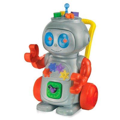 Andador Robô Vermelho Magic Toys
