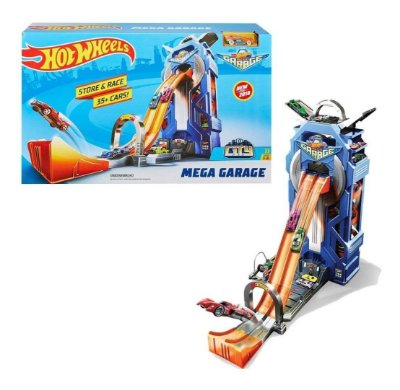 Brinquedo Pista Hot Wheels Mega Garagem Mattel