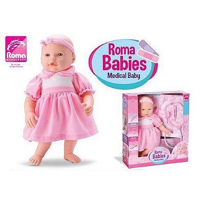Boneca Roma Babies Medical Baby Roma