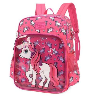 Mochila Unicórnio Petit Up4You G Rosa