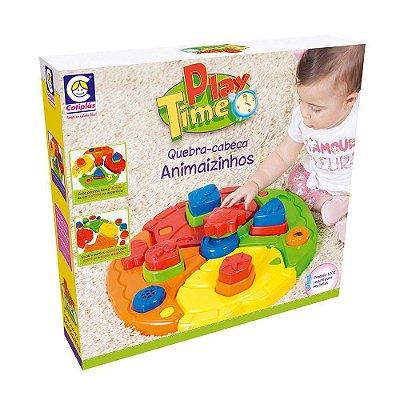 Play Time Quebra Cabeça Animaizinhos