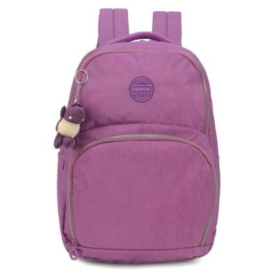 Mochila Notebook UP4YOU Crinkle Roxo