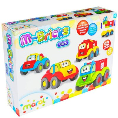 Conjunto M-bricks Cars Maral