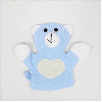 Esponja de Banho Pais e Filhos Urso Azul