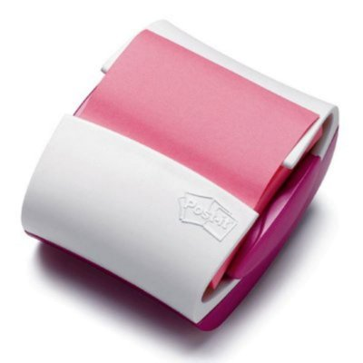Suporte Para Recado Adesivos Post-It Pop-Up 76x76mm Rosa 100 Folhas - 3m