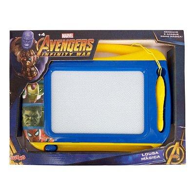 Lousa Mágica - Disney - Marvel - Avengers - Toyng- sortido
