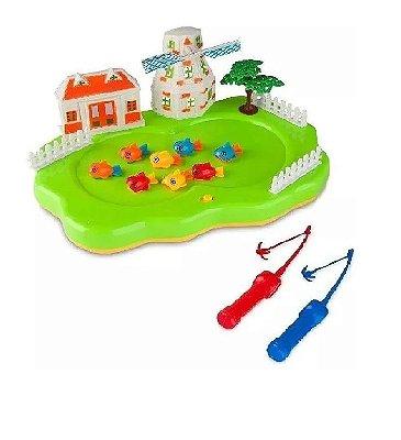 Jogo Clubinho De Pesca 33cm ZP00563 - Zoop Toys