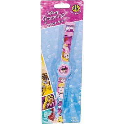 Relógio Digital Dtc Princesas Disney 4657