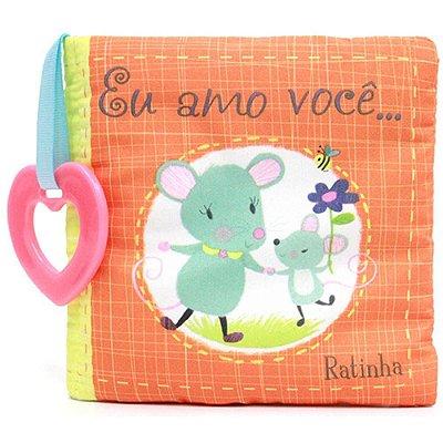 Livro - Eu amo você, ratinha