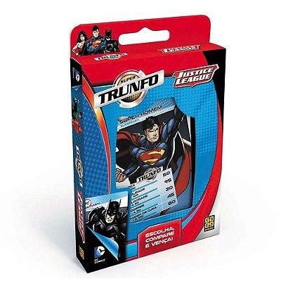 Jogo de Cartas - Trunfo - DC Comics - Liga da Justiça - Grow