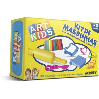 Kit de Massinha Art Kids 180gr