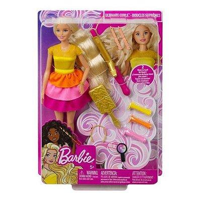 Brinquedo Boneca Barbie Penteados Dos Sonhos Mattel GBK24