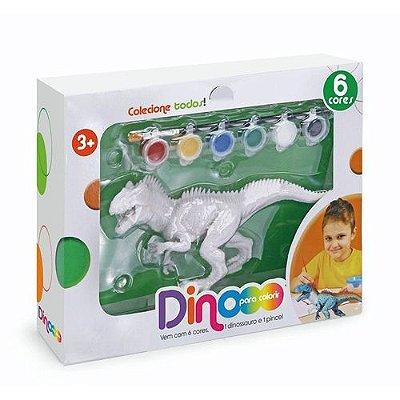 Coleção Dino Para Colorir - Tiranossauro Rex - 6300 - Xplast