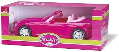 Carro Roadster - Menina Roma Jensen Rosa