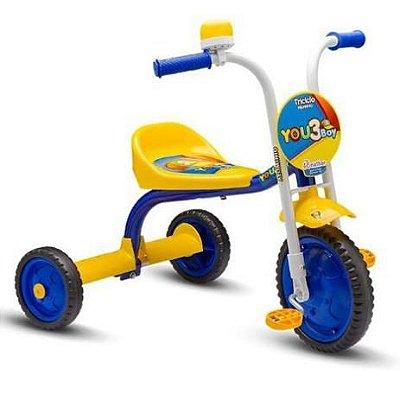 Triciclo You 3 Boy Aro 5 - Nathor