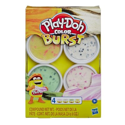 Massa de Modelar - Play-Doh - Core Color Burst - Sortido - Hasbro