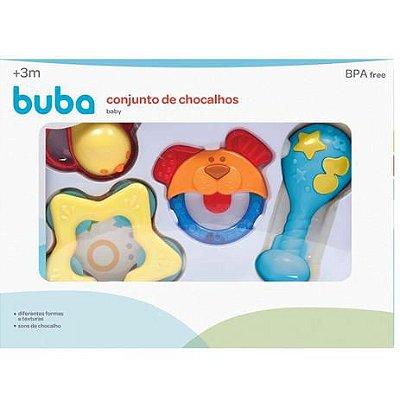 Buba Conjunto De Chocalhos Mordedores Baby