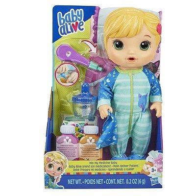 Boneca Baby Alive Aprendendo a Cuidar Loira - Hasbro E6937
