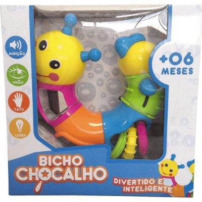 Bicho Chocalho - Zoop Toys