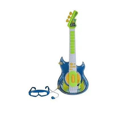 Guitarra Rock Star - Zoop Toys - Azul