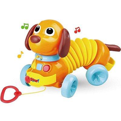 Cachorrinho Totó Sanfona Zoop Toys