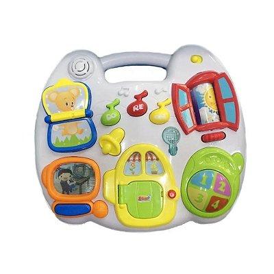 Mesinha de Atividades Casinha Com Luz E Som - Zoop Toys ZP00671