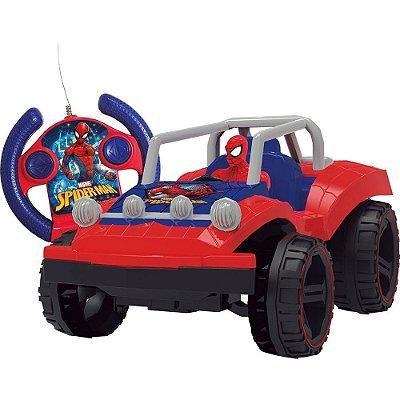 Carro Controle Remoto Spiderman Buggy Hero 7funcoes