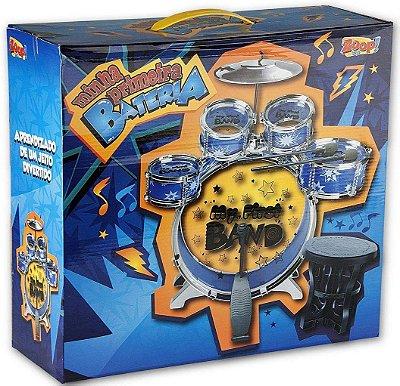 Minha Primeira Bateria 4 Tambores - Zoop Toys ZP00196