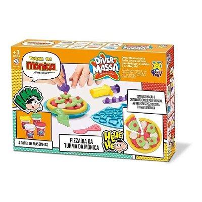 Kit Massinha De Modelar - Pizzaria Da Turma Da Monica