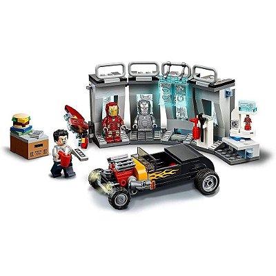 LEGO Super Heroes Marvel - Depósito de Armas do Homem de Ferro