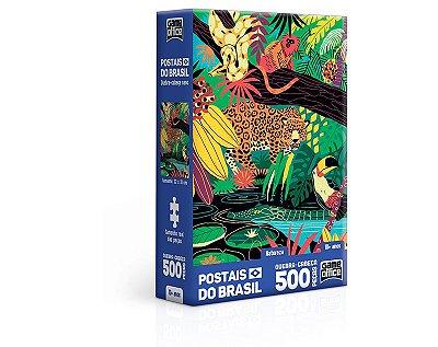 Quebra Cabeça Postais do Brasil – Natureza –  500 peças nano