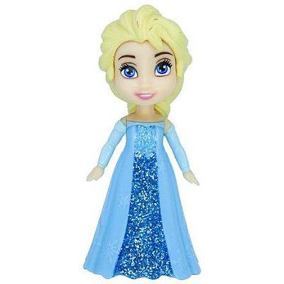 Mini Boneca Articulada Colecionável - 8 Cm - Disney - Frozen- Sortido