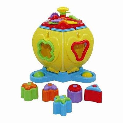 Brinquedo Educativo Penta Formas Com Som - Maral-SORTIDO