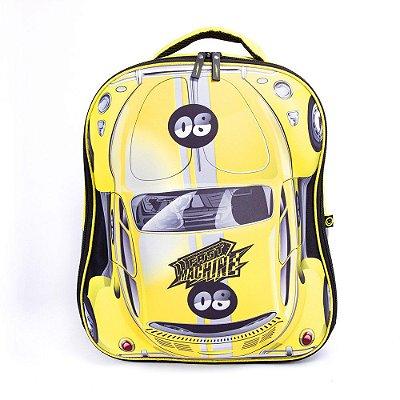 Mochila Fast Machine 3D - Clio Amarelo