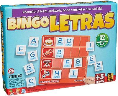 Jogo Educativo Bingo das Letras - Grow - GROW02320