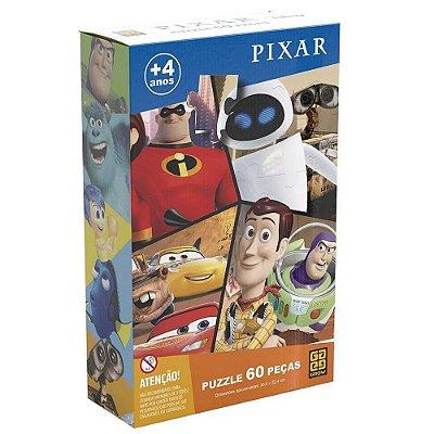 Quebra-Cabeça - 60 Peças - Pixar - Grow