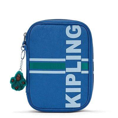 Estojo Kipling 100 Pens Artistic Blue-Único
