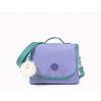 Lancheira Kipling New Kichirou - Glitter Purple