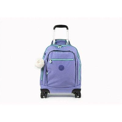 Mochila Kipling Zea - Glitter Purple