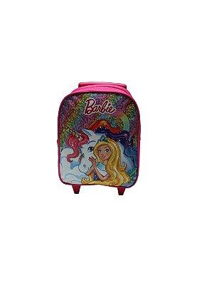 Mochila Infantil Rodinhas Da Barbie Peq Creche Luxcel 2020