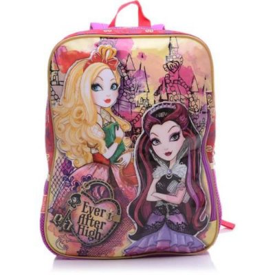 Mochila De Costas Infantil Sestini G 16m Vermelha Ever After High