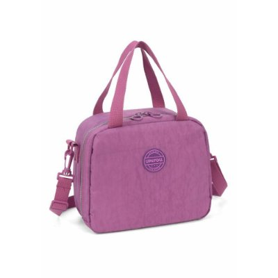 Lancheira UP4YOU Crinkle Roxo La51284Up